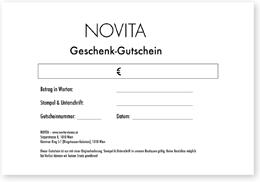 Novita Gutschein Beispiel